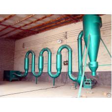 Аэродинамический сушильный агрегат мод. СА 400